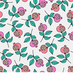 Berries seamless pattern vector