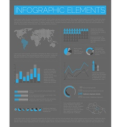 Big set of infographic elements vector