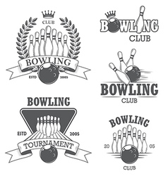 Bowling 1 vector