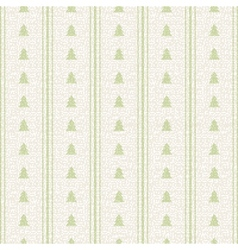 Christmas and Holidays seamless pattern with trees vector image vector image