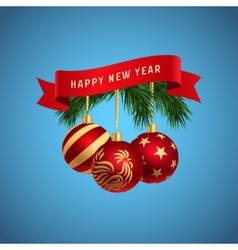 Happy new year logo vector