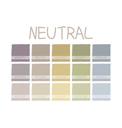 Neutral color tone vector