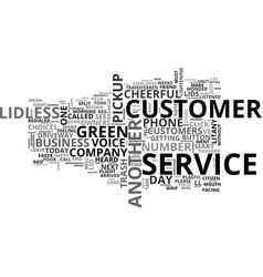When did customer service breakup text word cloud vector