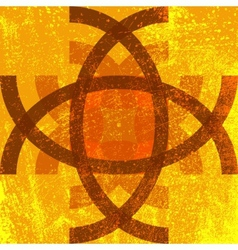 Abstract Grunge Symbol vector image