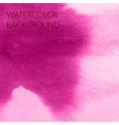 Abstract pink watercolor background for your vector