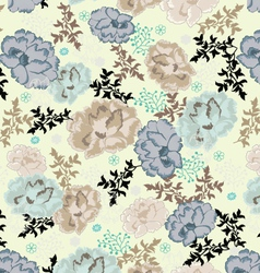 Floral seamless pattern design vector