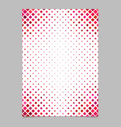 Color diagonal square pattern brochure background vector