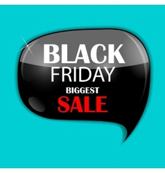 Black friday sale icon vector