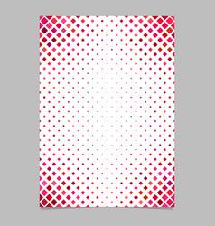 Color diagonal square pattern brochure background vector