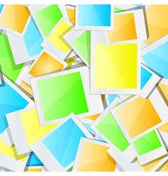 Colorful photo background vector image