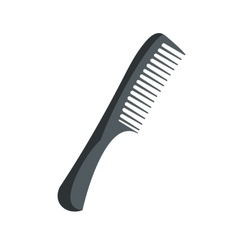 Comb flat icon vector