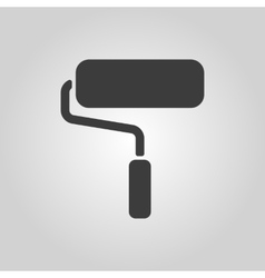 The paint roller icon Decorating and painting vector image vector image