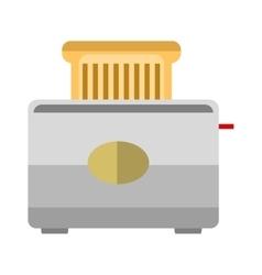 Toaster bread vector image