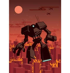 Giant Robot vector image