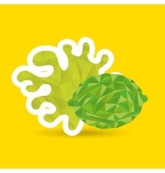 Juice fruit design vector