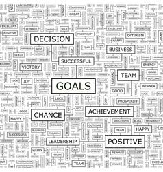 Goals vector