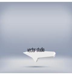 Grey studio room backdrop background vector