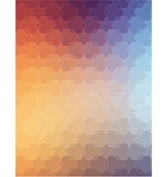 Orange violet polygonal background for web design vector