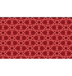 Terracotta pattern vector image vector image
