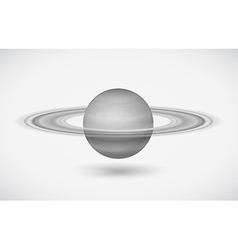 The planet saturn vector