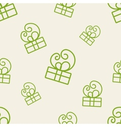 Gift Pattern Four vector image