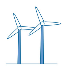 Isolated wind energy vector