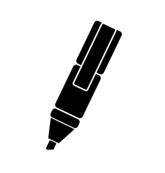 Highlighter marker icon image vector