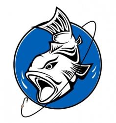 Fishing symbol vector