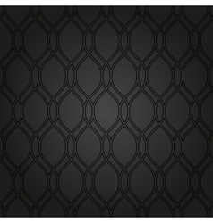Geometric abstract seamless dark pattern vector