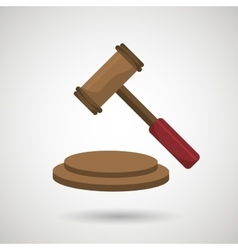 Gavel icon design vector
