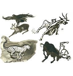 Animals vector
