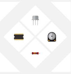 Flat appliance set of microprocessor resistance vector