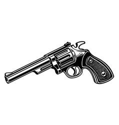 revolvere monochrome version vector image