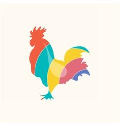 Roosterlogocolor vector image