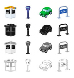 tools equipment rules and other web icon in vector image vector image