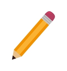 Pencil school stationary vector