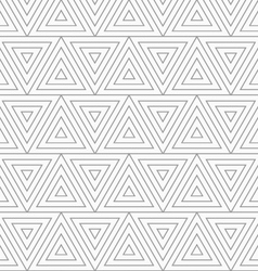 Slim gray triangles with offset vector