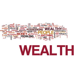 Attract the wealth you deserve text background vector
