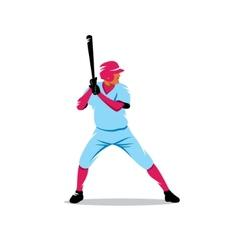 Baseball sign vector