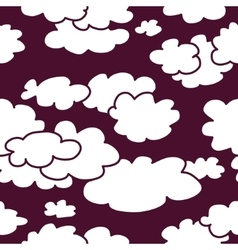 Sky abstract seamless pattern background vector image