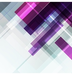 Abstract geometric violet background vector image vector image