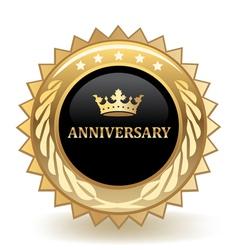 Anniversary Badge vector image