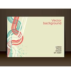 Flyer leaflet booklet layout editable design vector