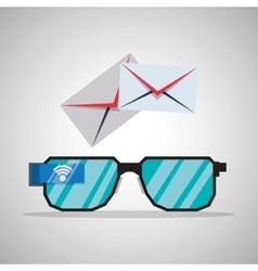 Internet design Online icon Colorful vector image