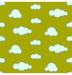 Night sky clouds seamless pattern vector