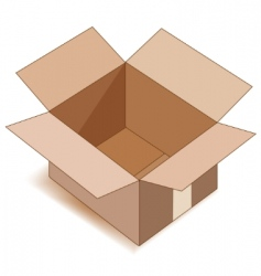 open box vector image vector image