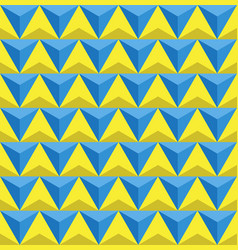 seamless triangles background vector image vector image