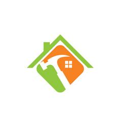 Home renovation tool logo vector