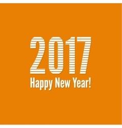 2017 happy new yea vector