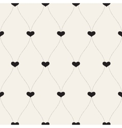 Seamless retro patternbackground for valentines vector